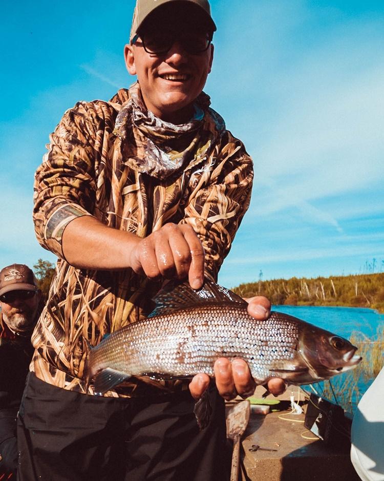 arctic grayling fly fishing